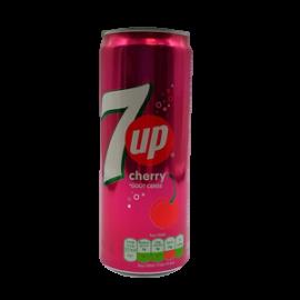 Seven Up Cherry Lata 33cl