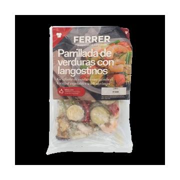 Ferrer Parrilada Verduras y...